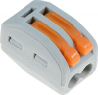 Wago 2 Way Electrical Wire Connector - Insulating spring lever Reusable Connector