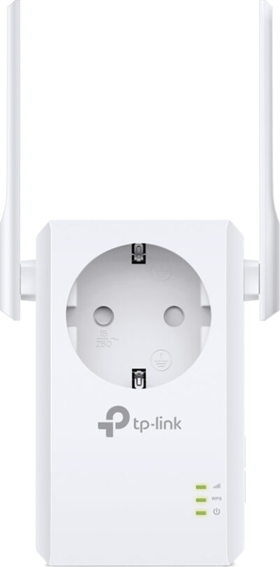TP-Link TL-WA860RE v6.0, 300Mbps Wireless N Wall Plugged Range Extender with Pass Through