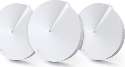 TP-Link Deco M5(3-Pack) v3.0, AC1300 Whole-Home Wi-Fi System, Qualcomm, Dual-Band, 802.11ac/a/b/g/n, 717MHz Quad-core CPU