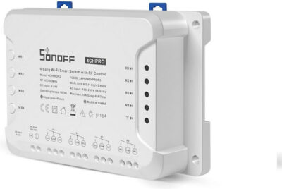SONOFF 4CHPROR3 4-Gang Wi-Fi Smart Switch With RF Control