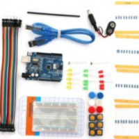 UNO R3 Economy Starter Kit Compatible with Arduino IDE