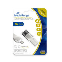 MediaRange USB 3.0 Combo Flash Drive with Apple Lightning plug 16GB (MR981)