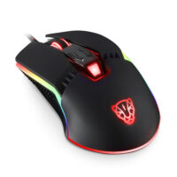 Motospeed V20 Wired Gaming Mouse Black
