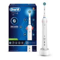 Ηλεκτρική Οδοντόβουρτσα Oral-B Pro 4 Cross Action Smart Coaching White (PRO4) (BRAPRO4)