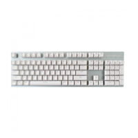 Motospeed GK89 White Wireless Mechanical Keyboard Ice Blue Backlit Brown Switch Gr Layout