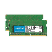 Crucial 16GB Kit (2 x 8GB) DDR4-2400 SODIMM Memory for Mac (CT2K8G4S24AM) (CRUCT2K8G4S24AM)