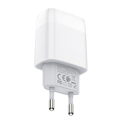 HOCO C72A GLORIOUS SINGLE PORT CHARGER(EU)