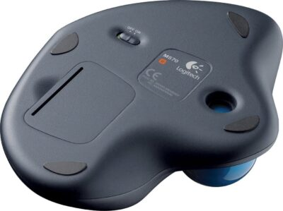 Logitech M570 Trackball Mouse (Black, Wireless) (LOGM570)