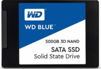 Western Digital Δίσκος SSD 2.5'' SATA III Blue 500GB 7mm 3D (WDS500G2B0A)
