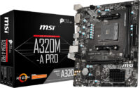 MSI A320M-A PRO Motherboard AM4 (7C51-005) (MSI7C51-001R)