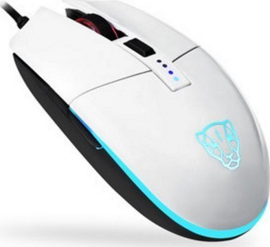 Motospeed V50 Wired gaming mouse white color