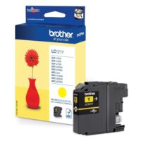 Brother Μελάνι Inkjet LC-121Y Yellow (LC-121Y) (BRO-LC-121Y)