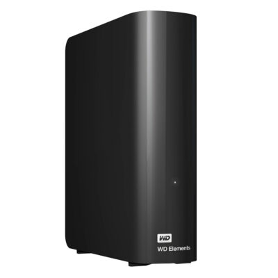 Western Digital Elements Desktop 4TB USB 3.0 (Black) (WDBWLG0040HBK)