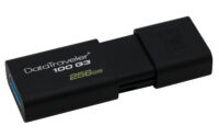 Kingston Data Traveler 100 G3 256GB USB 3.0 Flash Drive (Black) (DT100G3/256GB) (KINDT100G3/256GB)