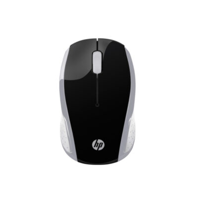 HP 200 Pike Silver Wireless Mouse