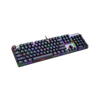 Motospeed CK104 Wired mechaninal keyboard RGB GR Layout Black Red Switces