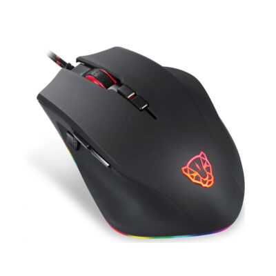 Motospeed V80 Wired gaming mouse black color