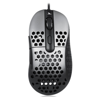 Motospeed ZEUS 6400 Wired Gaming Mouse Black Grey