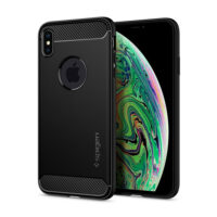 SPIGEN RUGGED ARMOR IPHONE XS MAX MATTE BLACK (065CS25125)