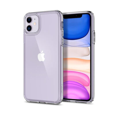 SPIGEN ULTRA HYBRID IPHONE 11 CRYSTAL CLEAR (076CS27185)