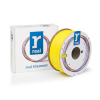 REAL ABS 3D Printer Filament - Yellow - spool of 1Kg - 1.75mm (REFABSYELLOW1000MM175)