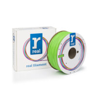 REAL ABS 3D Printer Filament - Nuclear green - spool of 1Kg - 1.75mm (REFABSNGREEN1000MM175)