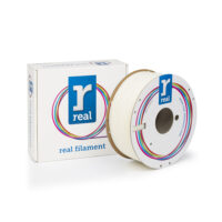 REAL ABS 3D Printer Filament - Neutral/uncolored - spool of 1Kg - 2.85mm (REFABSNATURAL1000MM3)