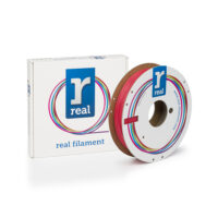 REAL RealFlex 3D Printer Filament - Red - spool of 0.5Kg - 1.75mm (REFFLEXRED500MM175)