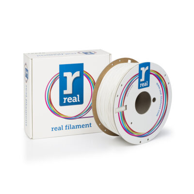 REAL RealFlex 3D Printer Filament - White - spool of 1Kg - 1.75mm