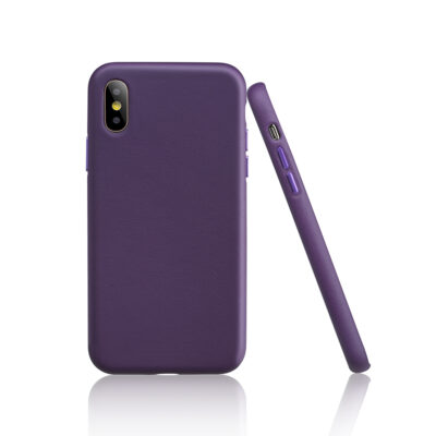 Garbot Corium Nappa Leather Case for IPhone XS Purple (SC-NFE-00028) (GARSC-NFE-00028)