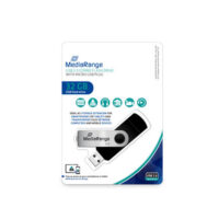 MediaRange USB combo flash drive with micro USB (OTG) plug, 32 GB (MR932-2)