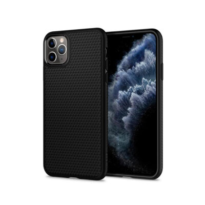 Spigen Liquid Air Iphone11 Pro Max Mattte Black (075CS27134) (SPI075CS27134)