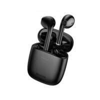 Baseus W04 Earbud Bluetooth Handsfree Μαύρο (NGW04-01) (BASNGW0401)