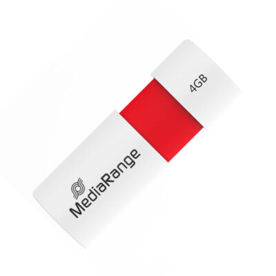 MediaRange USB 2.0 Flash Drive Color Edition 4GB (Red) (MR970)