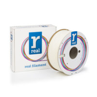 REAL ABS 3D Printer Filament - Neutral/uncolored - spool of 1Kg - 1.75mm (REFABSNATURAL1000MM175)