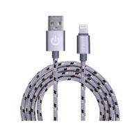 Garbot Grab&Go mobile phone cable Silver USB A Lightning 1m (C-05-10189) (GARC-05-10189)