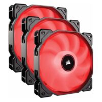 Corsair Air Series™ AF120 LED (2018) Red 120mm Fan Triple Pack (CO-9050083-WW)