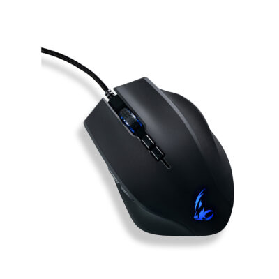 MediaRange wired Gaming-mouse with RGB-effect (MRGS203)
