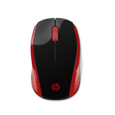 HP 200 Empress Red Wireless Mouse