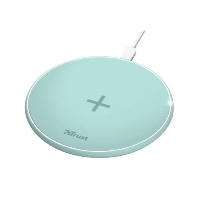 Trust Qylo Fast Wireless Charging Pad 7.5/10W - turquoise (23865) (TRS23865)