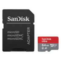 Sandisk Ultra microSDHC 64GB Class 10 A1 With Adapter Mobile (SDSQUA4-064G-GN6MA) (SANSDSQUA4-064G-GN6MA)