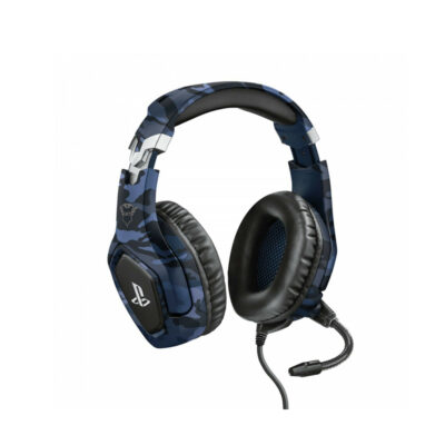 Trust GXT 488 Forze-B PS4 Gaming Headset PlayStation official licensed product - blue (23532) (TRS23532)