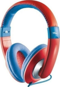 Trust Sonin Kids Headphones - red (23585) (TRS23585)