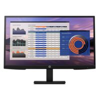 """HP P27h G4 FHD IPS Ergonomic Monitor 27"""" with speakers (7VH95AA) (HP7VH95AA)"""