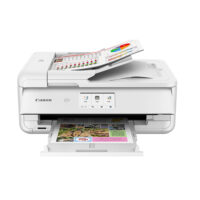 Canon PIXMA TS9551C white A3 MFP with 5 inks (2988C026AA) (CANTS9551C)