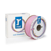 REAL ABS 3D Printer Filament - Pink - spool of 1Kg - 1.75mm (REFABSPINK1000MM175)